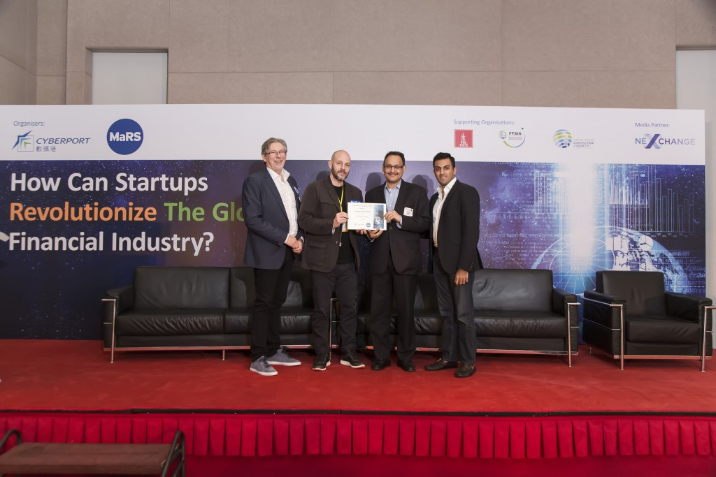 Mukesh Bubna, co-founder of Monexo Innovations Limited, pictured second from the right.